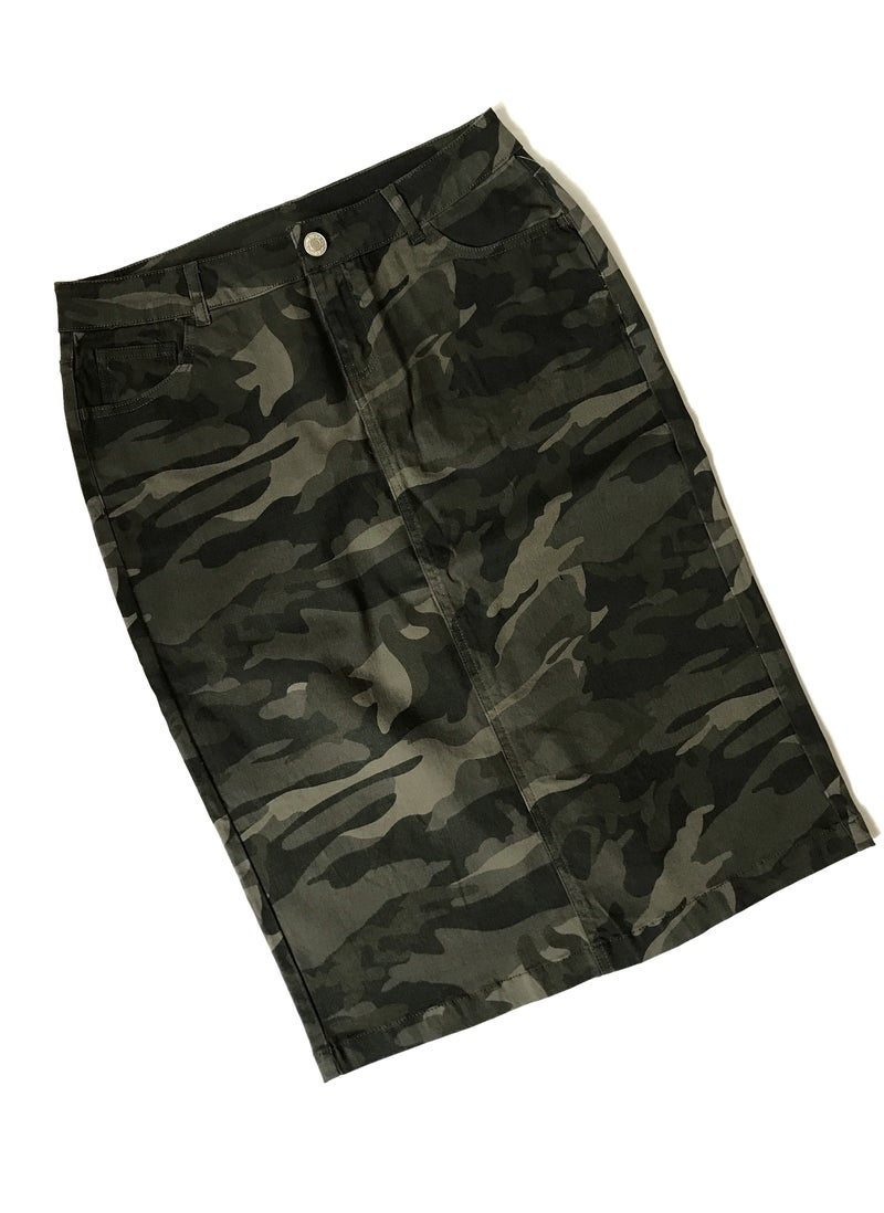 Camo Skirt *Final Sale*