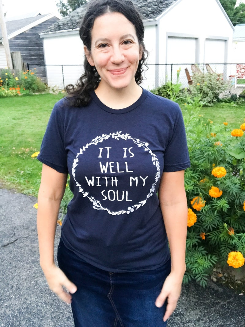 S, M, L, 2XL | It Is Well Graphic T