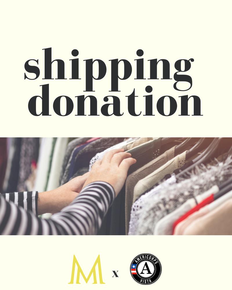 Shipping Donation