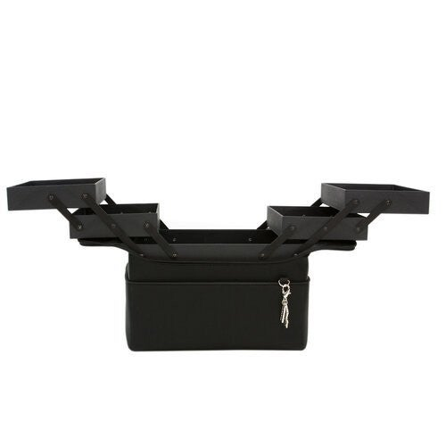 Nuvo  Luxury Storage Accordion Storage Box  Belvedere Black