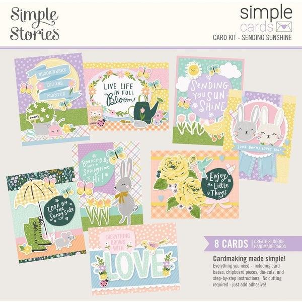 Simple Stories -  Sending Sunshine Card Kit WITH ENVELOPES