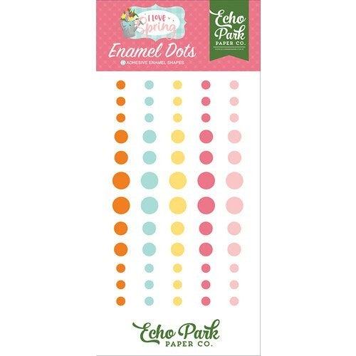 Echo ParkI Love Spring Enamel Dots