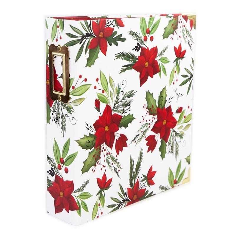 Carta Bella Home For Christmas Poinsettia 6x8 Album Set