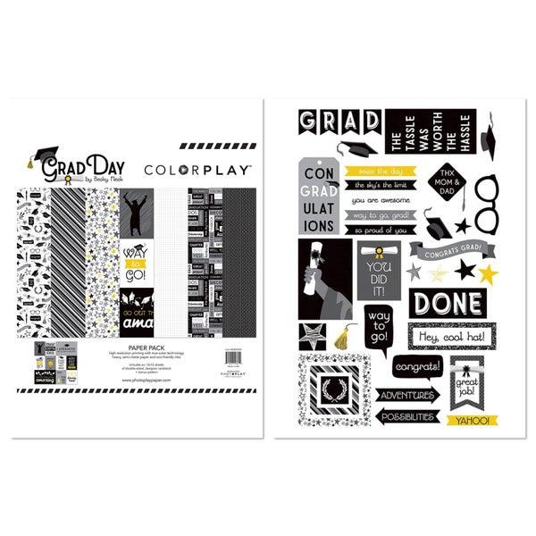 Photoplay Colorplay Grad Day 2 pc Happy Scrappy Bag