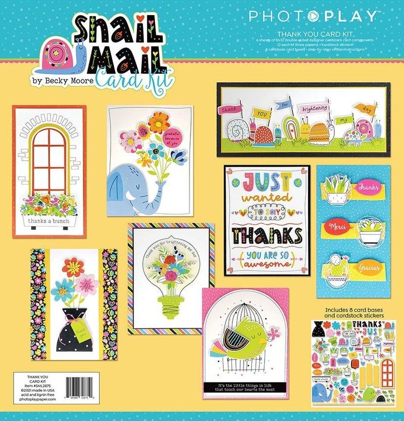 PhotoPlay  Snail Mail Card Kit