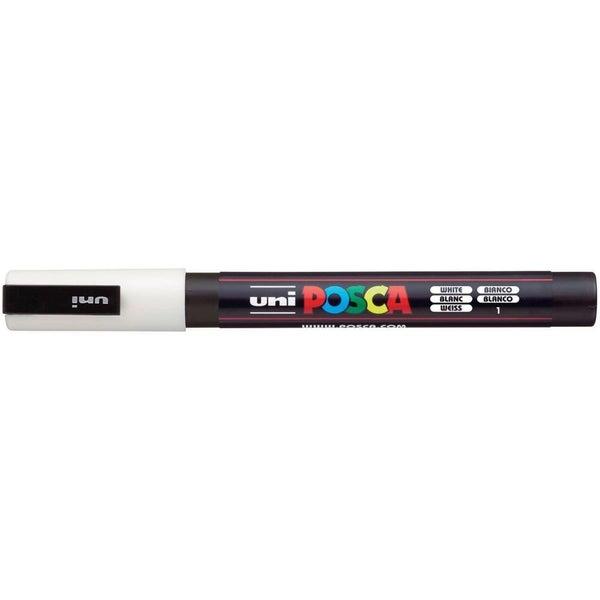 POSCA 3M Fine Bullet Tip Pen  WHITE