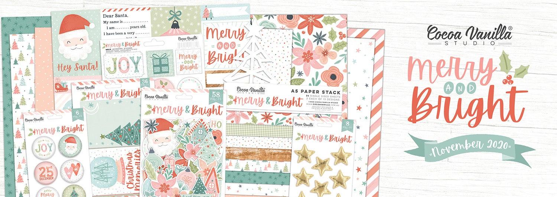 Cocoa Vanilla Studio Merry & Bright