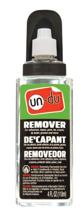 un-du® Sticker, Tape and Label Remover