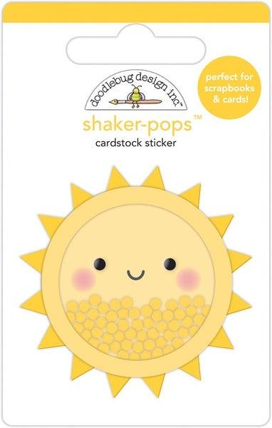 Doodlebug Design - Fun At The Park Collection - Shaker-Pops - Sunsational