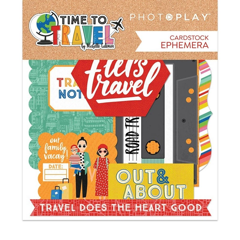 PhotoPlay time To travel 2 pc Happy Scrappy Bag