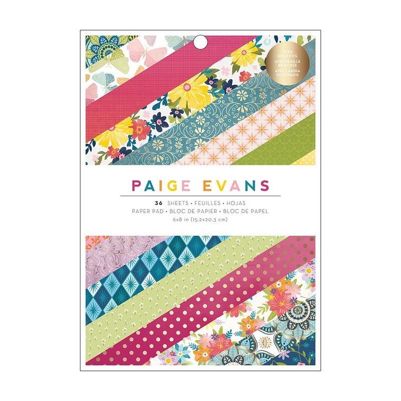 Paige Evans - Wonders 6 x 8 Paper Pad - Gold Foil Accents