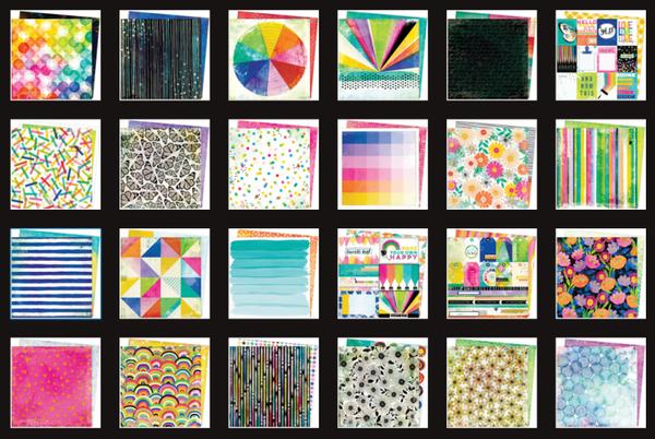 Vicki Boutin Color Study 24 Paper Set