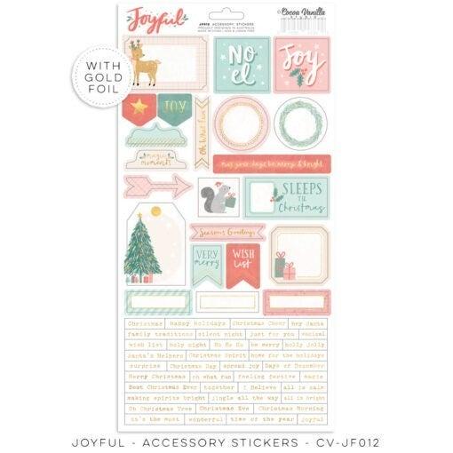 PRE ORDER Cocoa Vanilla Studio JOYFUL – Accessory Stickers