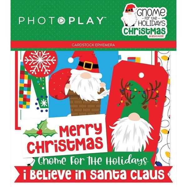 PhotoPlay Gnome for the Holidays Christmas Ephemera