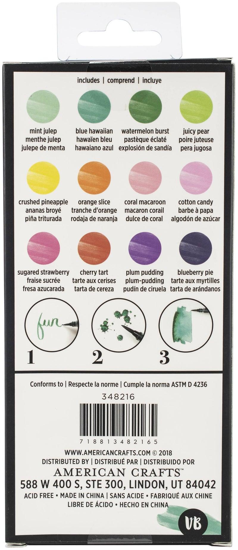 Vicki Boutin Mixed Media Watercolor Markers