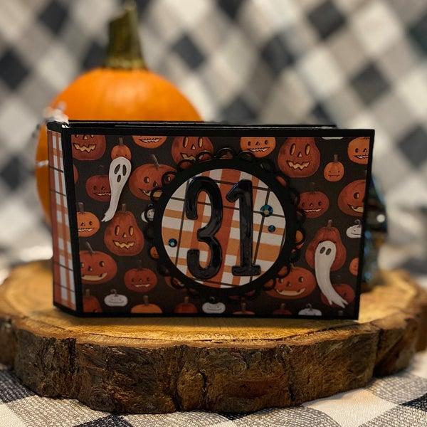 Halloween Market Mini Album Class with Gina C. 11/5/21
