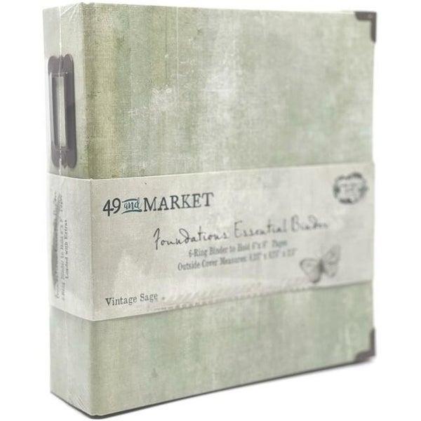 49 and Market - Foundations Essential Binder - Vintage Sage