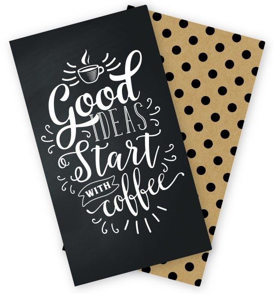 COFFEE & FRIENDS TRAVELERS NOTEBOOK INSERT - LINED
