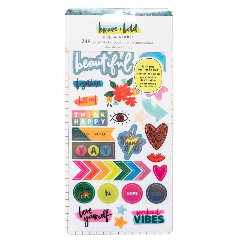 Amy Tangerine Brave & Bold 45 Pc Happy Scrappy Bag