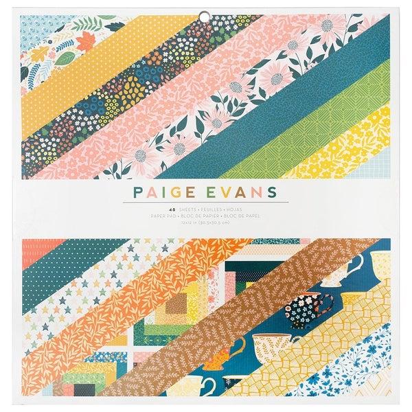 Paige Evans  Bungalow Lane 12 x 12 Paper Pad