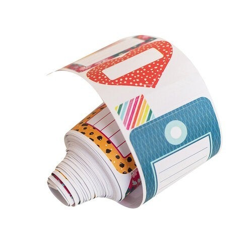 Amy Tangerine Brave and Bold Sticker Roll