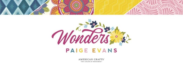 Paige Evans 34 pc WONDERS Happy Scrappy Bag