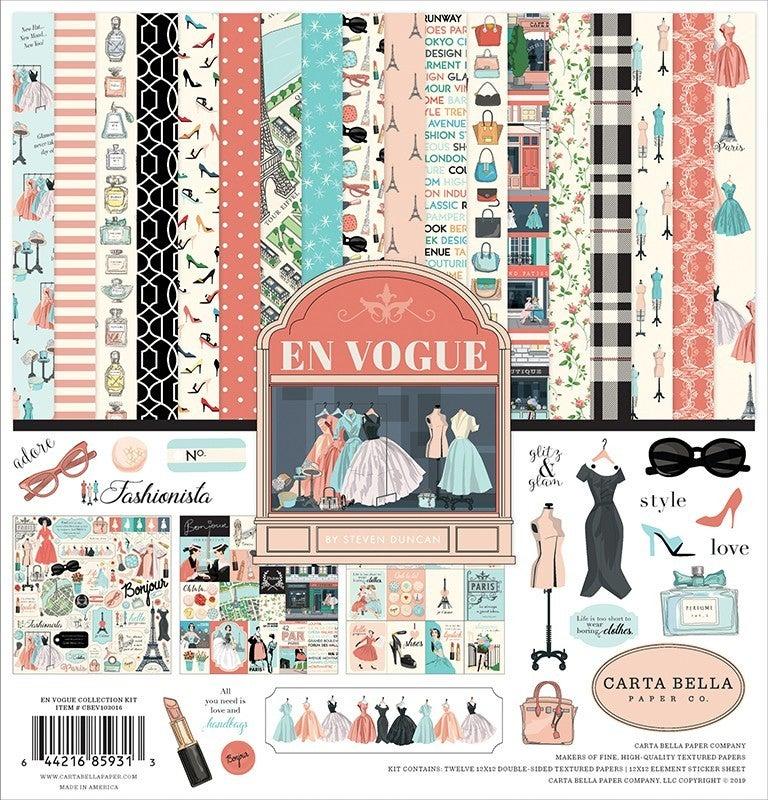 Carta Bella En Vogue 3 pc Happy Scrappy Bag