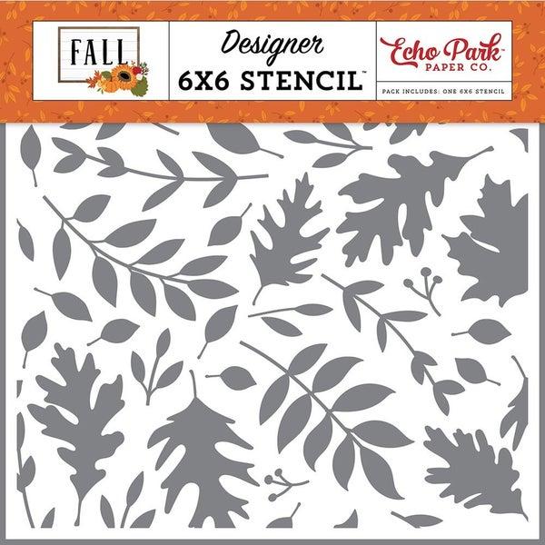 Echo Park - Fall  6 x 6 Stencils - Autumn Time