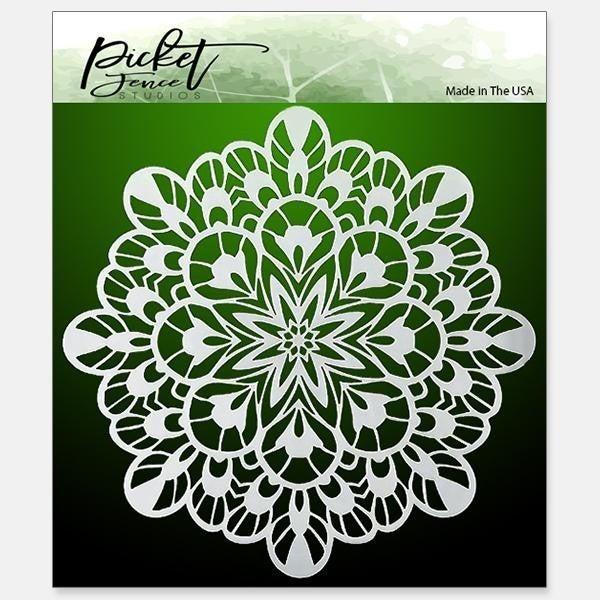 Picket Fence Studios Fancy Kaleidoscope Stencil