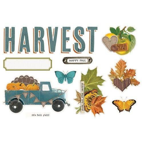 Simple Stories Page Pieces  Harvest