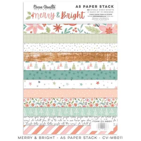 Cocoa Vanilla Studio Merry & Bright 6 x 8 Paper Stack