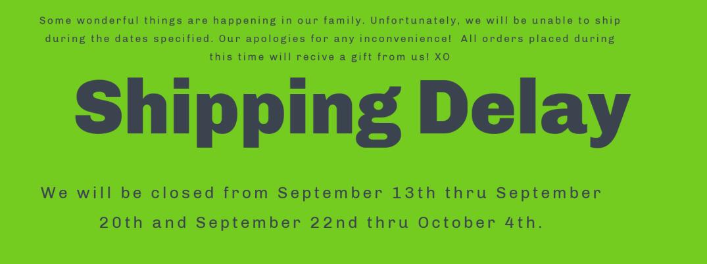 Shipping Delay!