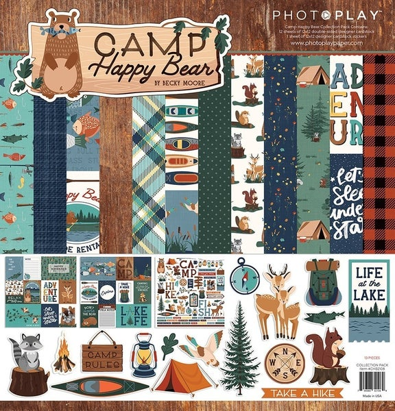 Photoplay Camp Happy Bear