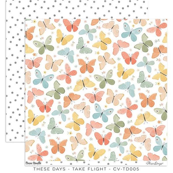 Cocoa Vanilla Studio Take Flight – HOME GROWN 12 x 12 Paper