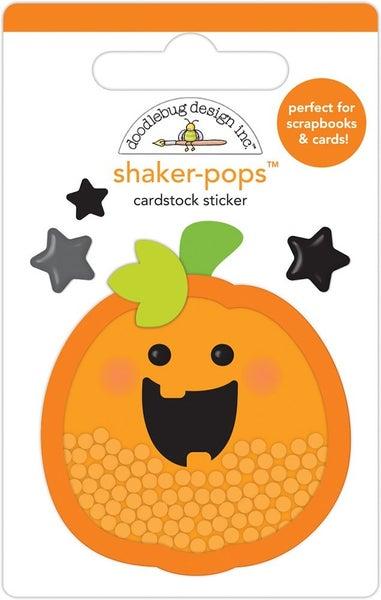 Doodlebug Design Happy Haunting  Shaker-Pops Hello Pumpkin