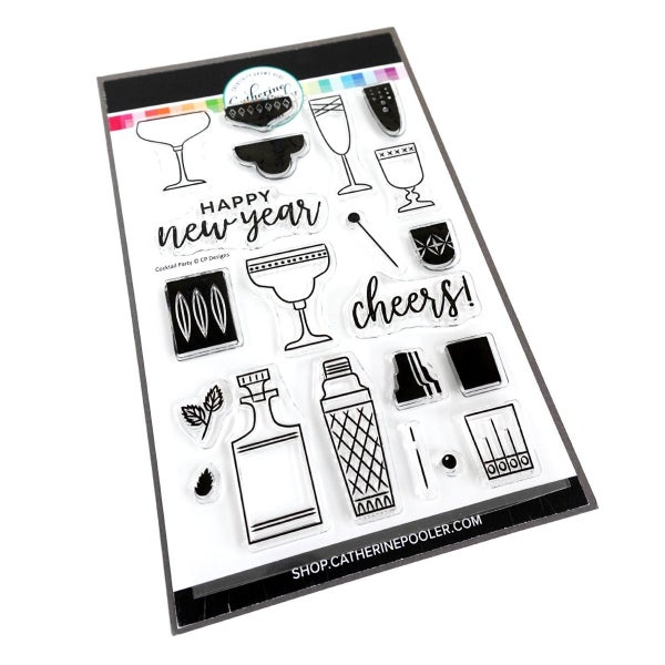Catherine Pooler Cocktail Party Stamp Set