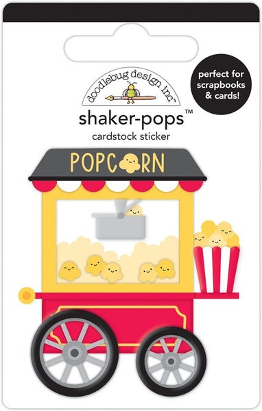 Doodlebug Design - Fun At The Park Collection - Shaker-Pops - What's Poppin'