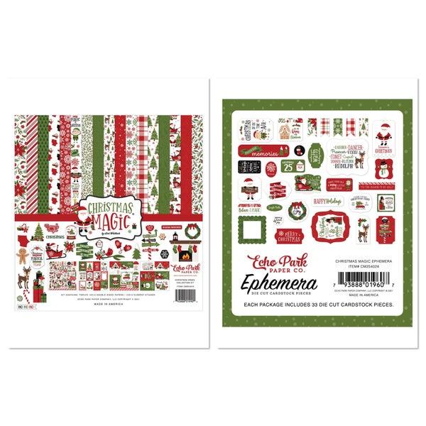 Echo Park Christmas Magic 2 pc Happy Scrappy Bag
