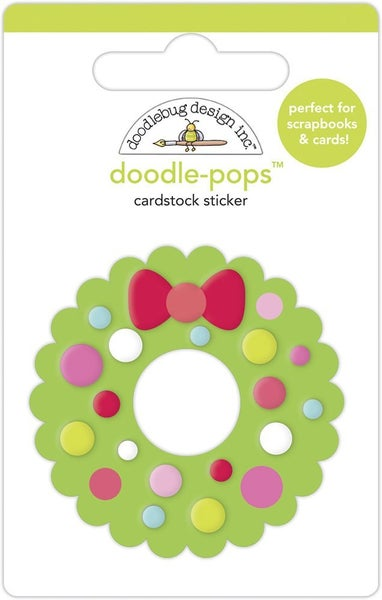 Doodlebug Design  Night Before Christmas  Doodle-Pops - Welcome Christmas