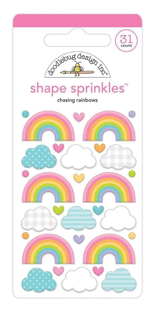 Doodlebug Design -Fairy Garden  Sprinkles Chasing Rainbows