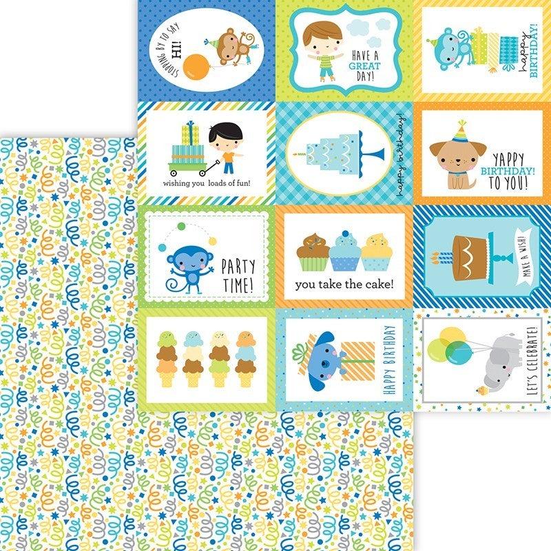 Doodlebug Design Party Time 7 pc set