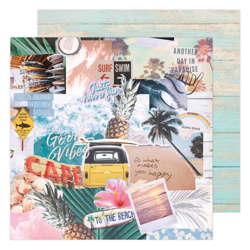 Heidi Swapp CARE FREE 31 pc Happy Scrappy Bag