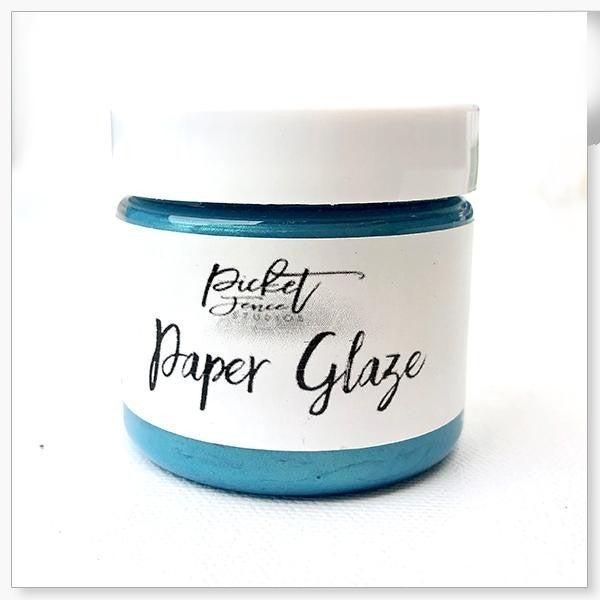 Picket Fence Studios Paper Glaze - Ocean Poppy