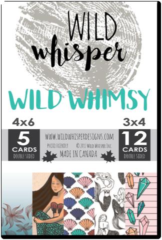 Wild Whisper WILD WHIMSY  CARD PACK