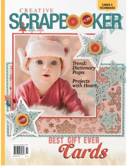 CREATIVE SCRAPBOOKER MAGAZINE Winter 2019/20