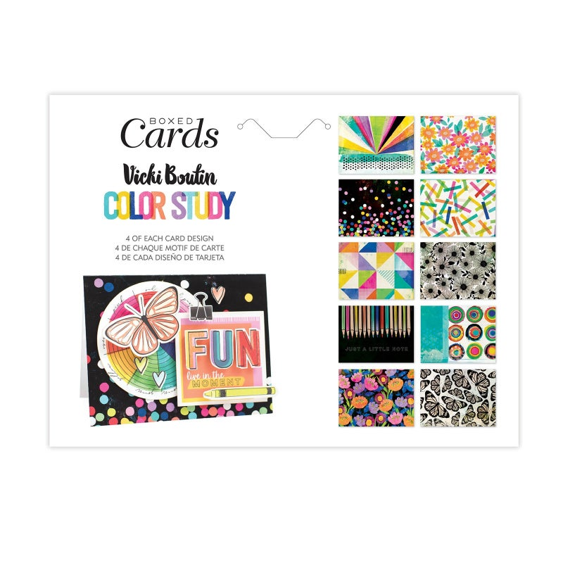 Vicki Boutin  Color Study Boxed Cards