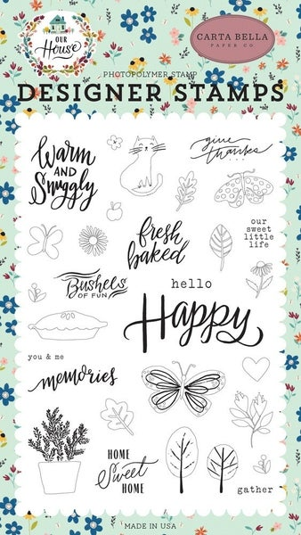 Carta Bella Our House Sweet Little Life Stamp