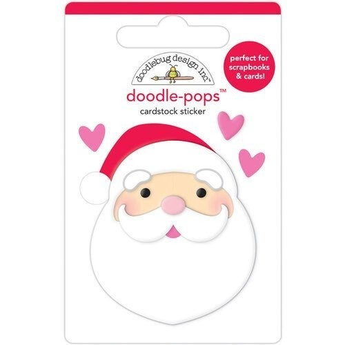 Doodlebug Design - Night Before Christmas DoodlePops  I love Santa