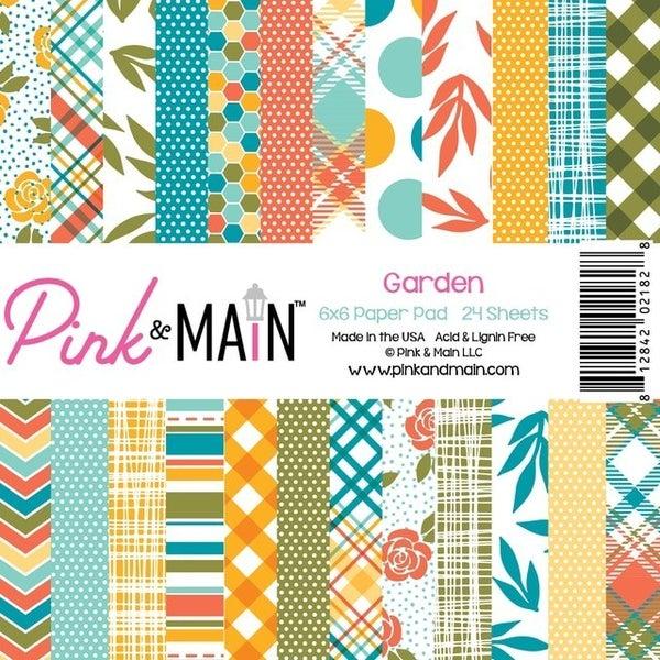 Pink 7 Main Garden 6x6 Paper Pack
