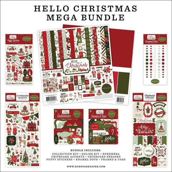 Carta Bella Hello Christmas MEGA Bundle
